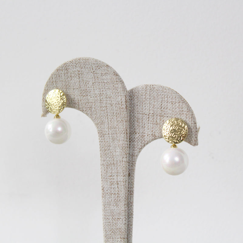 Aretes Floating Pearl