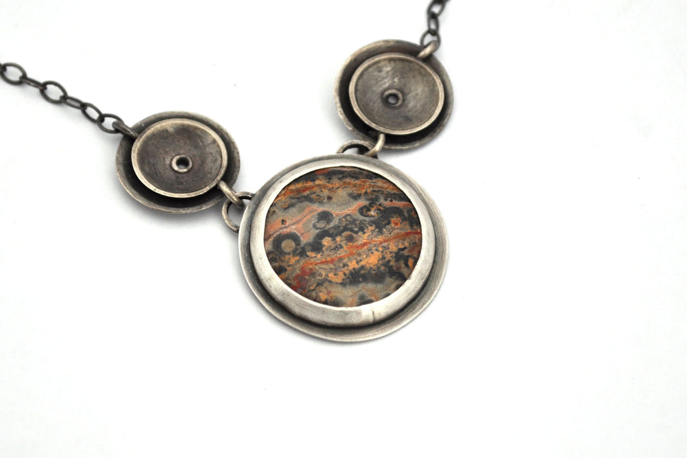 Erin Austin necklace, Riveted Orbital