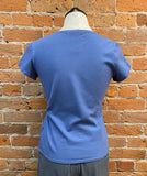 Cut Loose t-shirt, fitted cap-sleeve