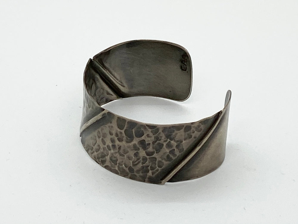 Erin Austin cuff, #80 Fold Formed and Hammered