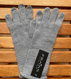 Fraas gloves, knit roll top
