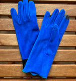 Lauer gloves, fleece frilled edge