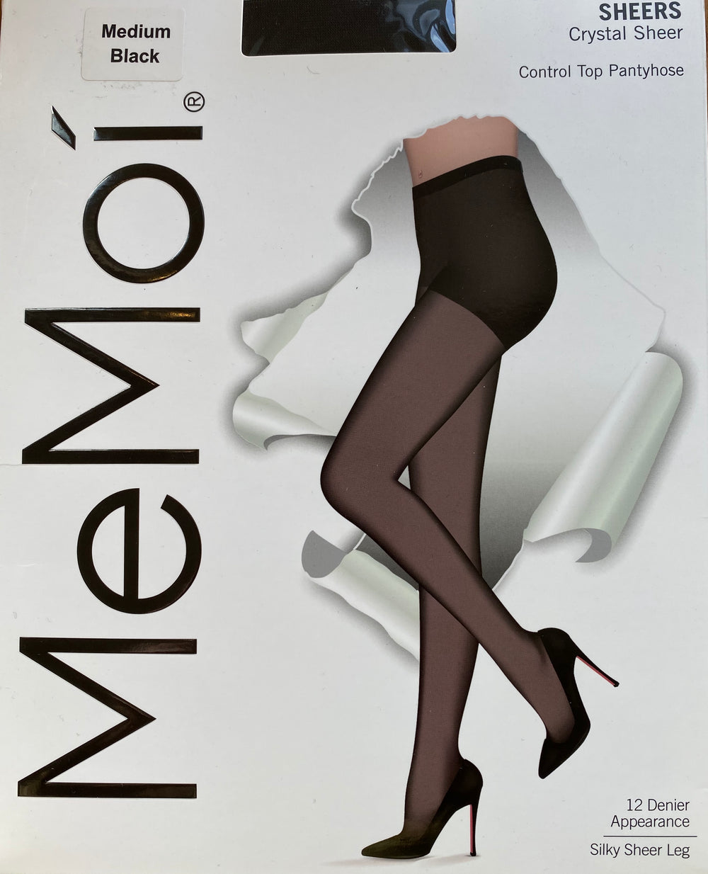 MeMoi pantyhose, control top sheer
