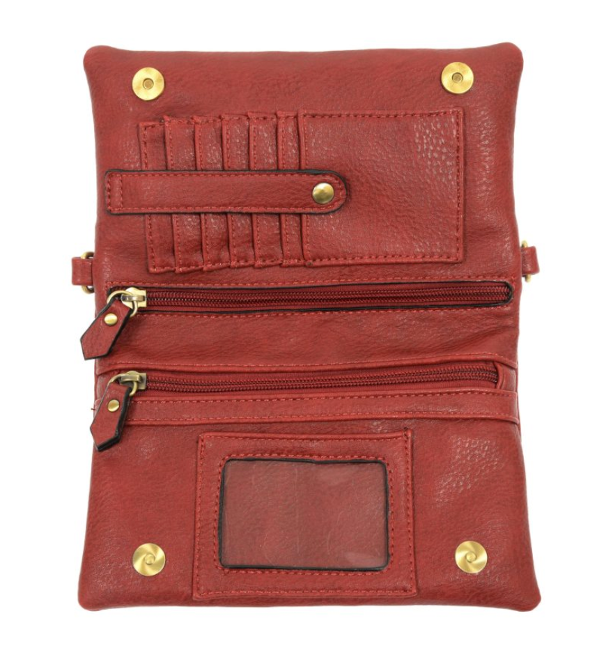 Joy Susan Kate Cross-Body Clutch