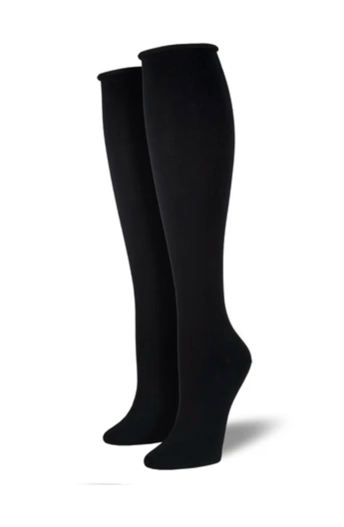 Socksmith solid comfort knee-high, women's sizing