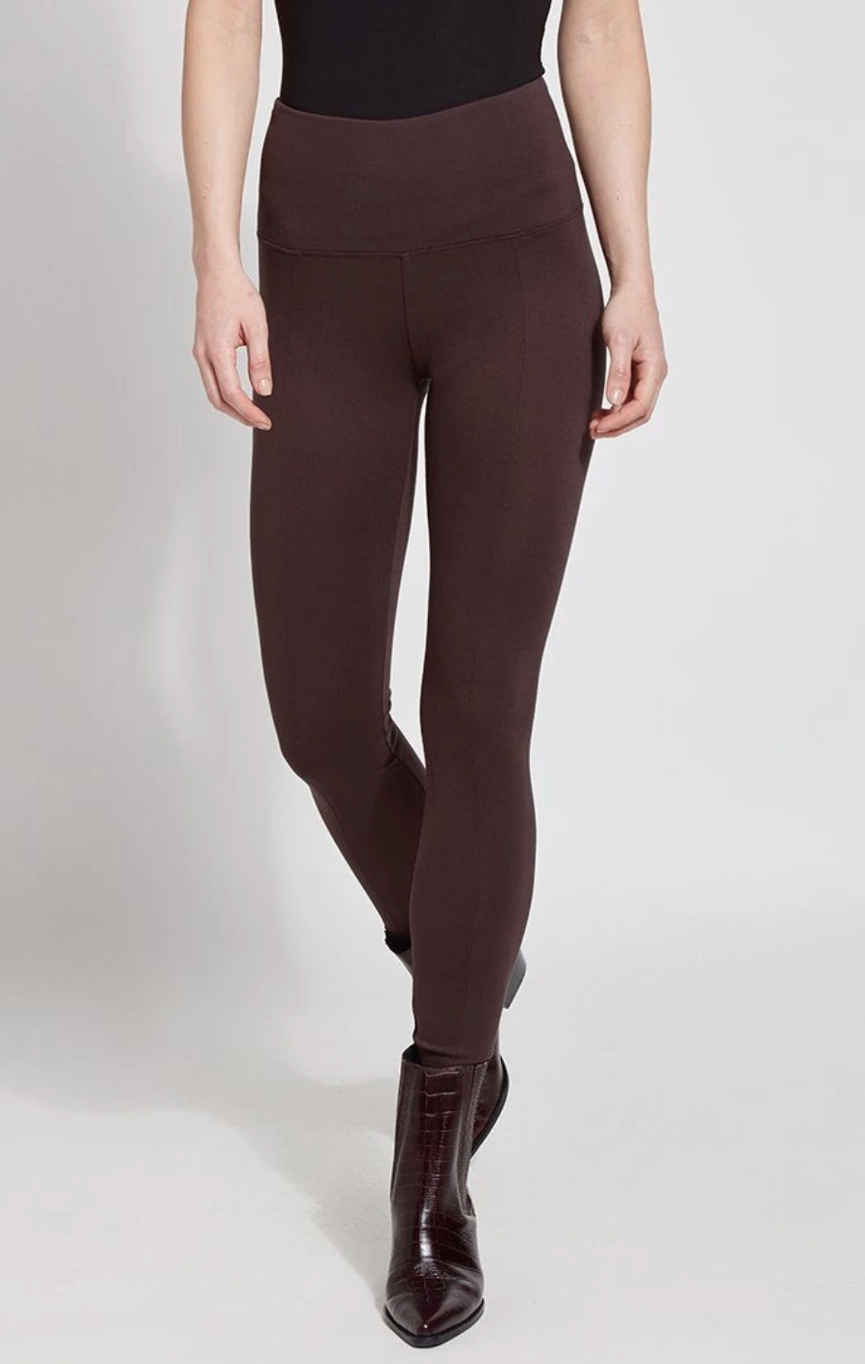 Lyseé Center-Seam Ponte Leggings