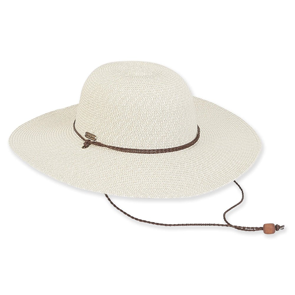 Sun 'n' Sand hat 2139, paper braid with chin strap (3 colors)