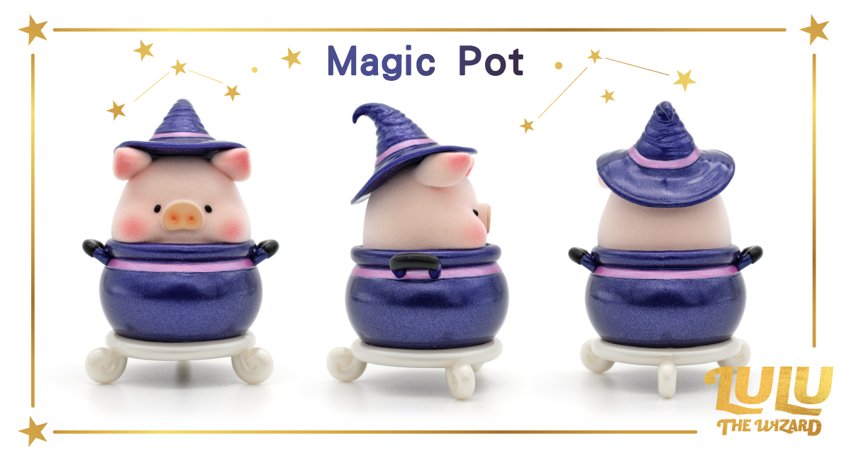 Lulu The Piggy Can - The Wizard Series by Cici's Story - Preorder