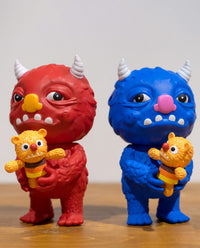 Bloofus & Baby Rudy by Mooncasket x Toy Zero
