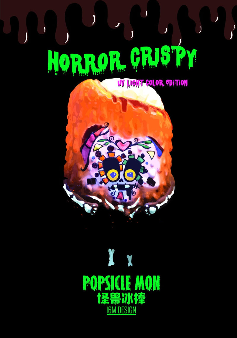 Popsicle Mon - UV Light Horror Crispy Exclusive by 16M