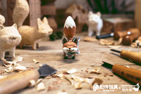 Carving Zoo Gacha Series by Thinkingues Animal Carving - Preorder