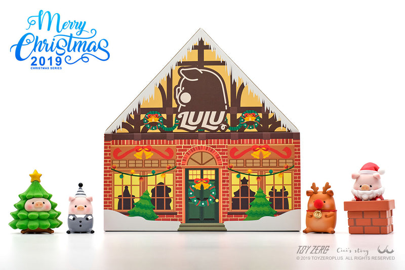 Lulu The Piggy Can - Christmas Series by Cici's Story
