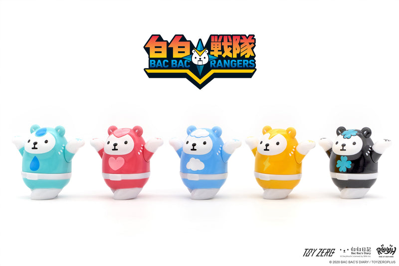 Raise Up Your Hands R.U.Y.H. - Bac Bac Rangers Blind Box Series