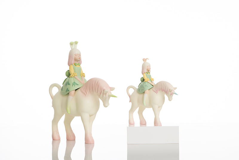 White Night Fairy Tale - Nocturnal Unicorn - Colors - Preorder