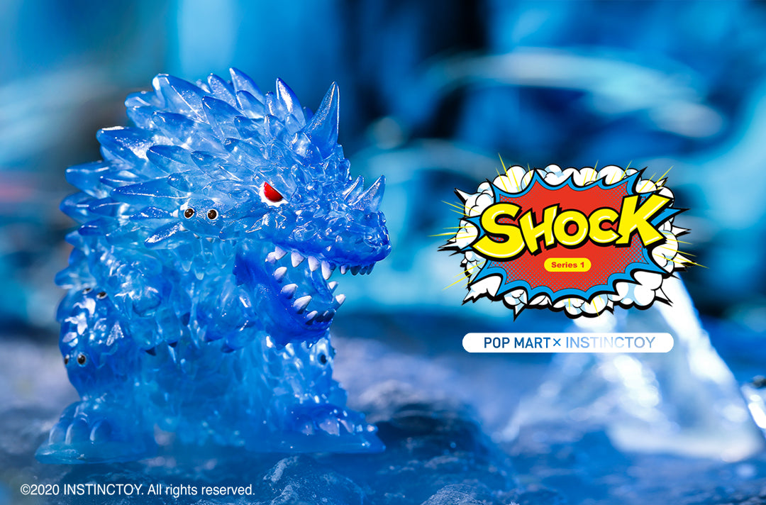 Instinctoy 2020 pop mart Shock series toy figurine snowy the ice