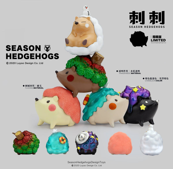 Season Hedgehogs Gacha Series - Preorder