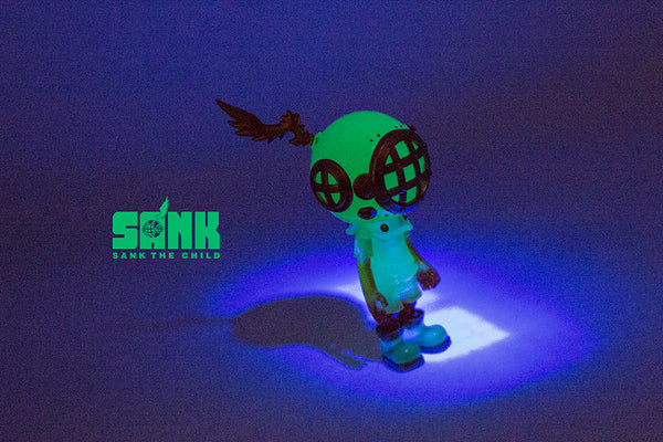 Little Sank- Spectrum Series (Neon Green) by Sank Toys - Preorder