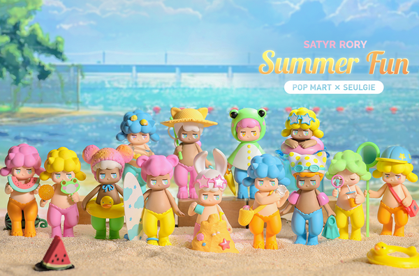 Satyr Rory Summer Fun Series by SEULGIE x POP MART - Preorder