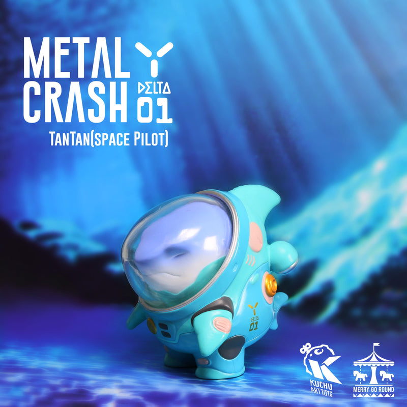Space Pilot TAN TAN - Metal Crash Blue by MGR x Kuchu - Preorder
