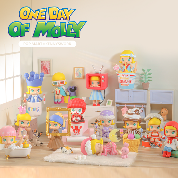 One Day Of Molly Blind Box Series by Kenny Wong - Preorder