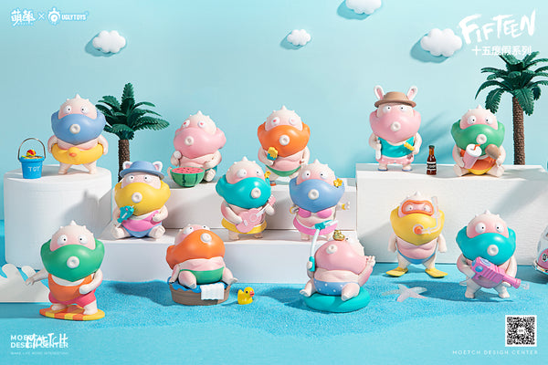 Fifteen Blindbox Series by Ugly Toys x Moetch - Preorder