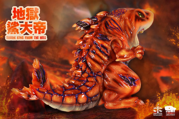 Shark King from the Hell Lava Edition by Momoco - Preorder