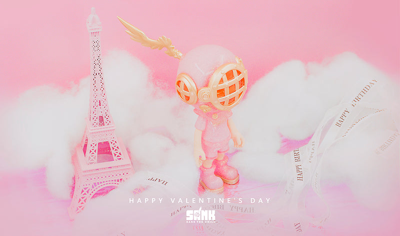 Little Sank - Shiny Pink by SANK TOYS - Preorder