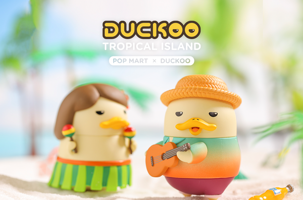 Duckoo - Tropical Island Blindbox Series by Duckoo - Preorder