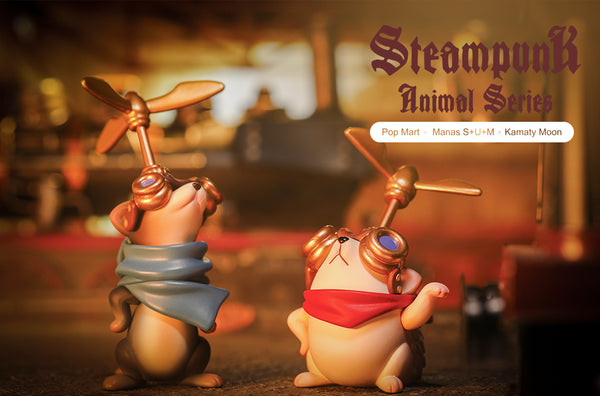 Steampunk Animals Mini Series Blindbox by Manas S+U+M & Kamaty Moon - Preorder