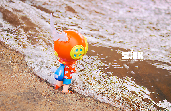 On the Way-BackpackBoy-Hawaii by Sank - Preorder
