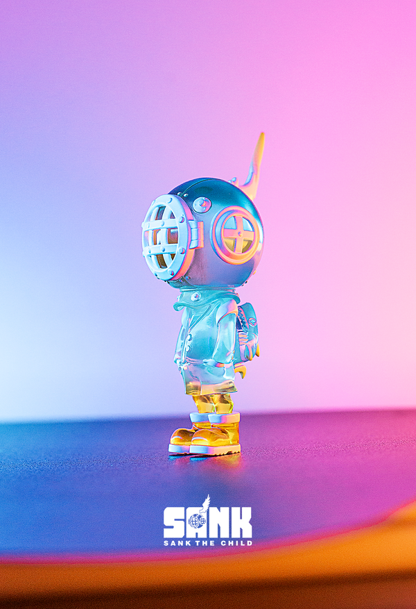 Backpack Boy - Spectrum Series - Light Blue by Sank Toys - Preorder
