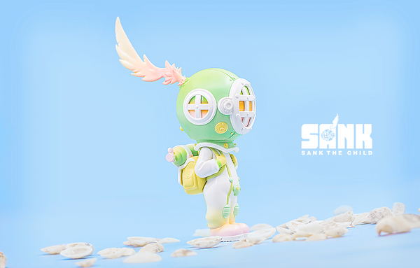 On the Way Series The Diver-Green by Sank Toys - Preorder