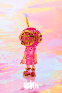 Little Sank- GID Pink by Sank Toys