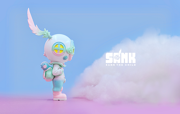 On the Way Series The Diver-Blues by Sank Toys - Preorder