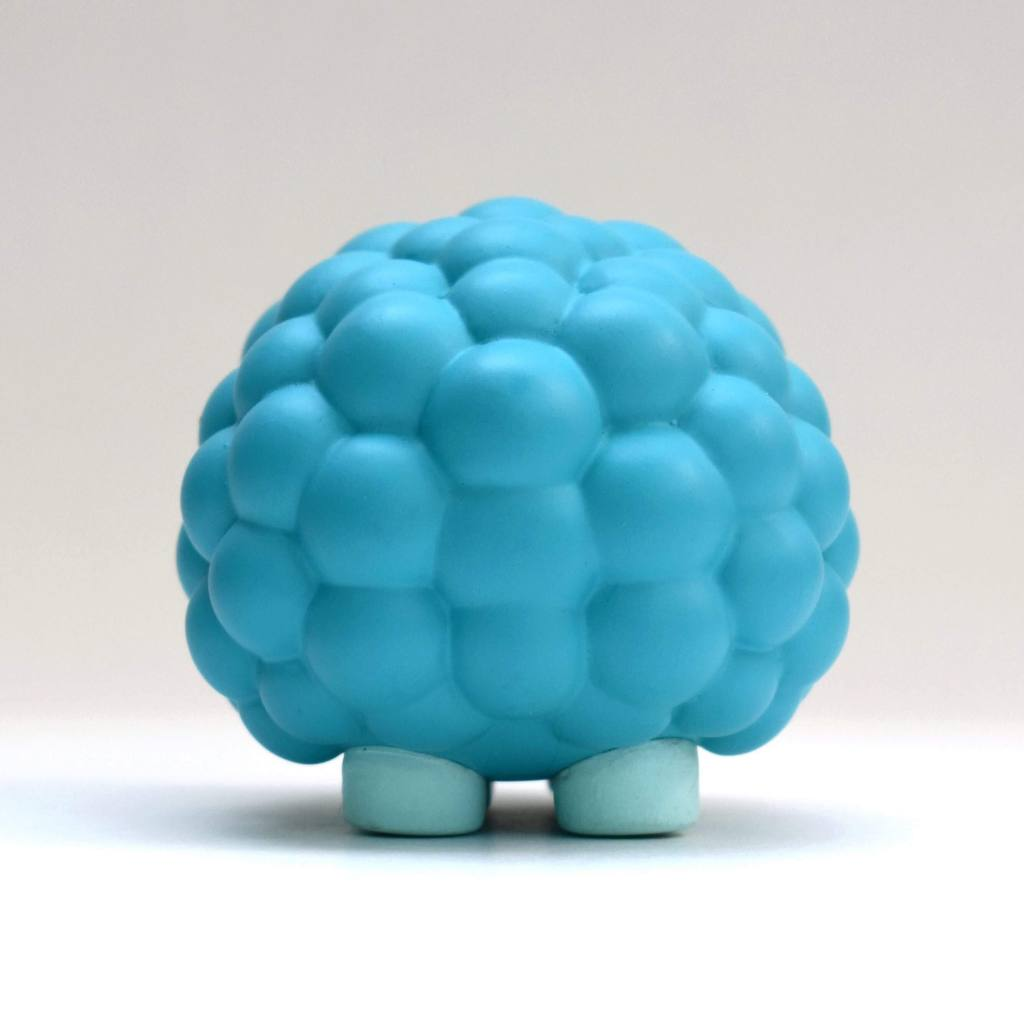 Bubbles 2-inch vinyl figure by The Bots and UVD Toys