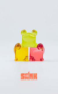 Cube Series Candy Frog Set by Sank