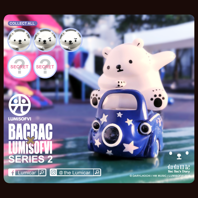 Lumisofvi : BacBac Blind Box Series 2