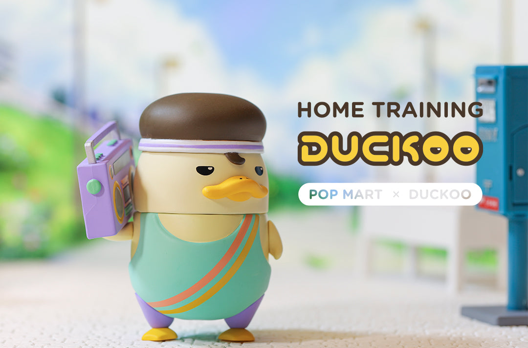 Duckoo Home Training blind box Series By Chokocider x POP MART - Preorder