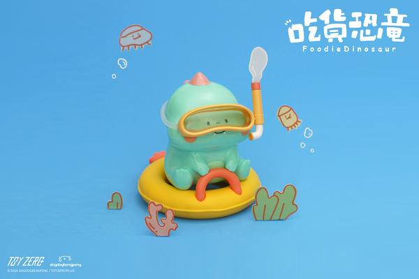 Foodie Dinosaur - Summer XL version - Preorder