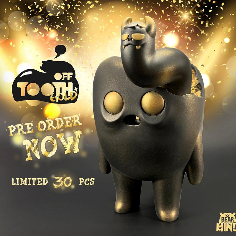 Tooth Off Black & Gold by Bear In Mind Toys
