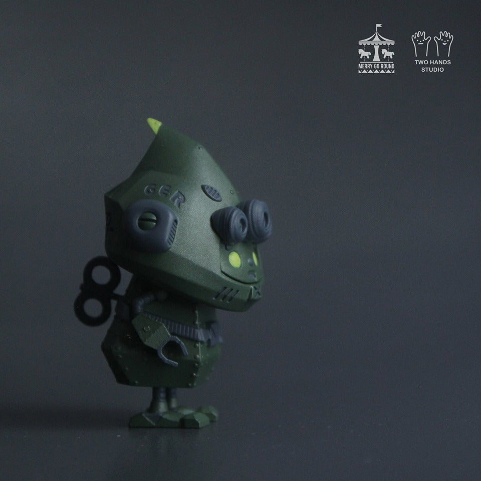 Ironclad Green mail (Mecha Elf) by Two Hands - Preorder