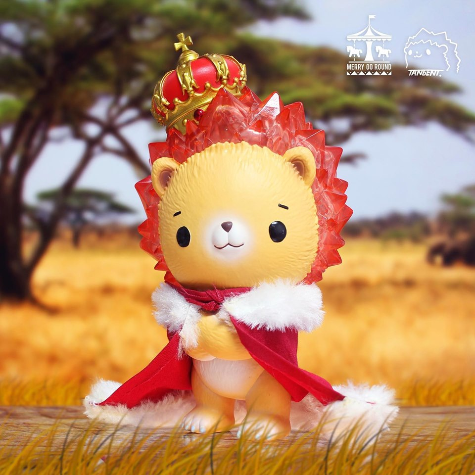 Crystal Little Lion Sunny by Tangent - Preorder