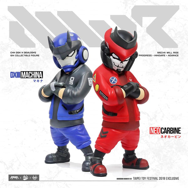 Neo Carbine and DXIII Machina by CHK DSK x Devil Toys