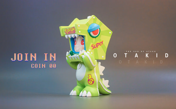 OTAKID Baby- Dinosaur -Green by Sank Toys - Preorder
