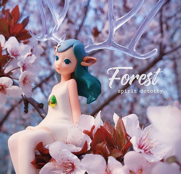 Fairy Forest Spirit Blind Box Series by Heilychee - Preorder