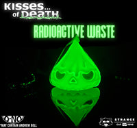"Skull Kisses of Death 4"" : Mostly Evil - Radioactive Waste Exclusive by Andrew Bell"
