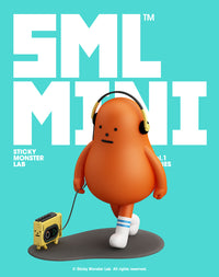 SML MINI Mini-Figure Blind Box Vol 1 WALKING SERIES by Sticky Monster Lab - Preorder