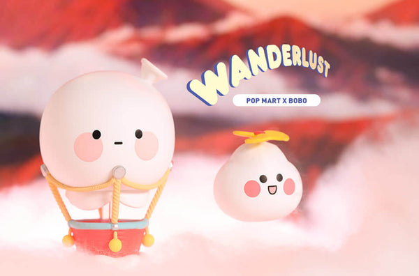 Bobo and Coco Wanderlust Blind Box Series by POP MART - Preorder
