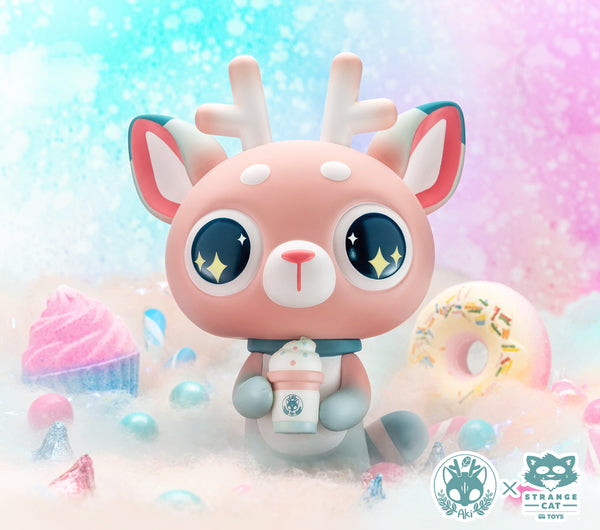 DeerCat - Cotton Candy Sparkle by Amber Aki Huang
