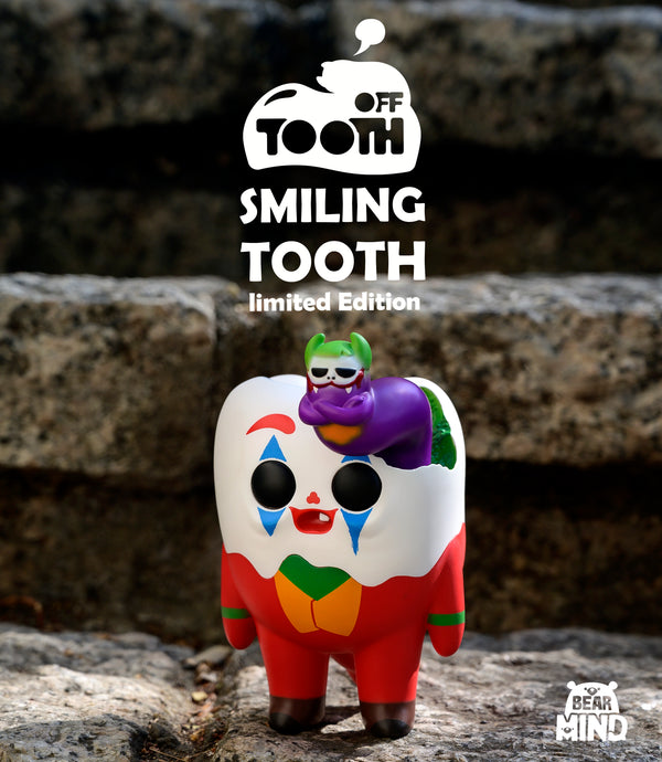 Tooth Off - Smiling Tooth by Bear In Mind Toys - Preorder